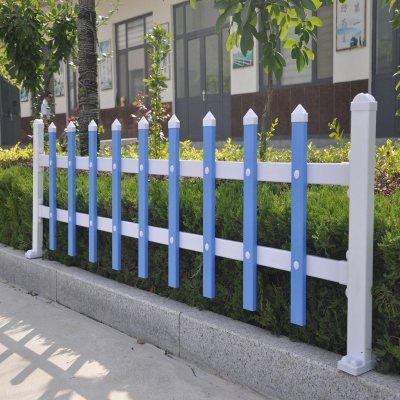 HOTBEE包立柱 pvc栅栏 花坛草坪塑料围栏庭院 绿色花园围栏塑钢护栏