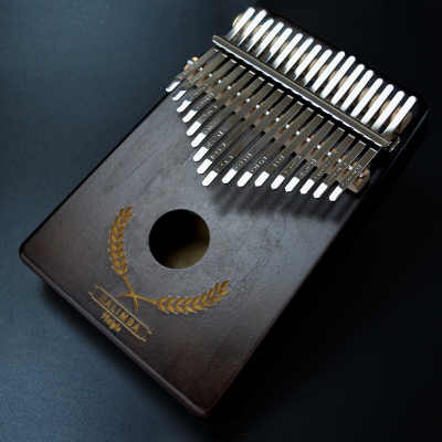 卡林巴琴17音拇指琴Kalimba手指琴單板便攜式樂器手指鋼琴初學者 17音北美松(棕色小麥)送大禮包