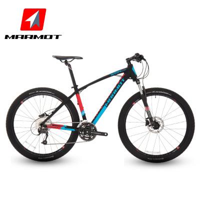 Marmot土撥鼠27.5英寸變速自行車男女式雙油壓碟剎山地自行車單車鋁合金27速