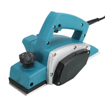 電刨家用小型多功能手提臺式木工刨木工工具電動刨子壓刨刀機 升級塑體(紙盒包裝)出廠配置