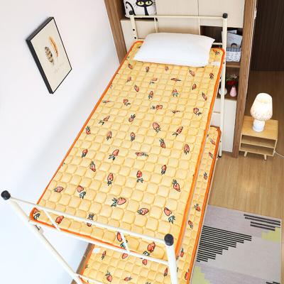 貝蘭蓓兒學生床墊上下鋪宿舍0.9單人水洗折疊兒童雙層床軟墊褥子墊被1.2米