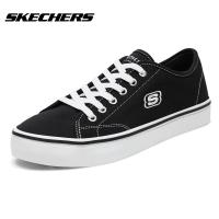 Skechers斯凯奇女鞋情侣款小白鞋 时尚休闲板鞋帆布鞋 66666131