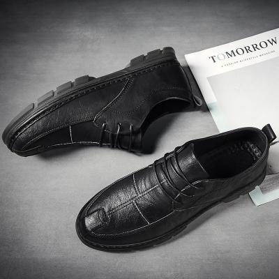 跨洋(KUAYANG)主推四季商務休閑鞋男鞋子男士經典低幫鞋2020新款皮鞋A