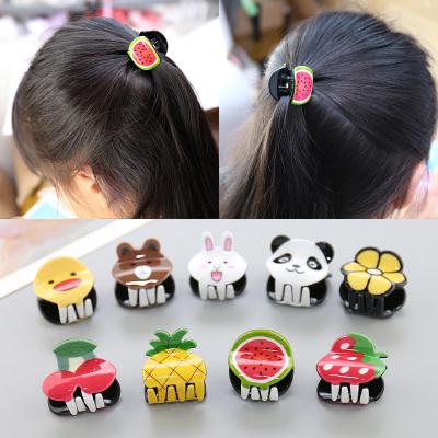 兒童飾頭飾韓國風精品可愛卡通水果抓夾女童夾學生中大童卡