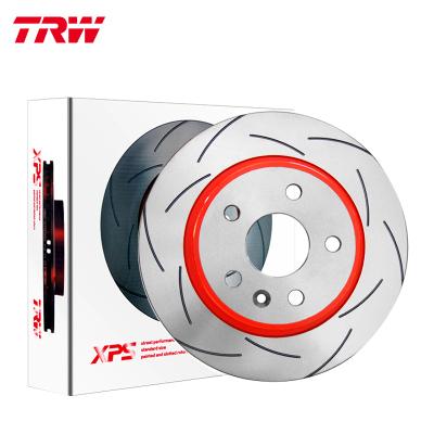 天合(TRW)前剎車盤DF8027XSS適配10-17款華晨寶馬5系(F18)(對裝)