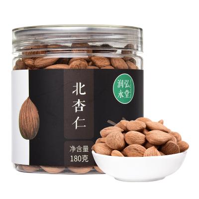潤弘永堂 北杏仁180g/罐 生苦杏仁片 帶皮 零食堅果