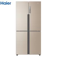 海尔458升十字门对开门多门变频冰箱 风冷无霜 干湿分储 智能杀菌 家用电冰箱
