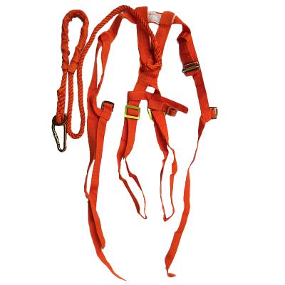 高空单绳安全带单肩式电工安全带 安全绳单挂钩安全带单挂点全身安全带(条)