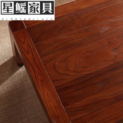 老榆木炕桌日式榻榻米茶几现代简约飘窗桌地台阳台茶道小矮桌