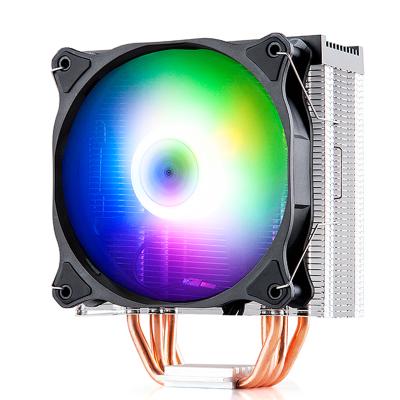 金河田冰魂CPU散熱器銅管臺式電腦靜音風扇