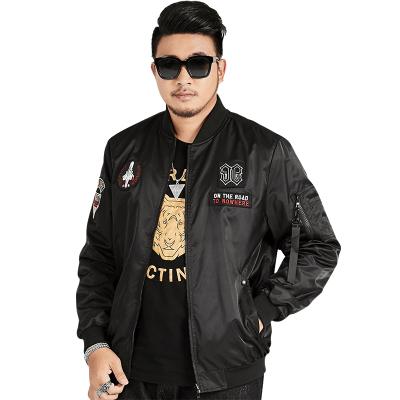 木林森(MULINSEN)大码可穿到240斤户外夹克飞行服两面穿夹克户外休闲衣B9989-1