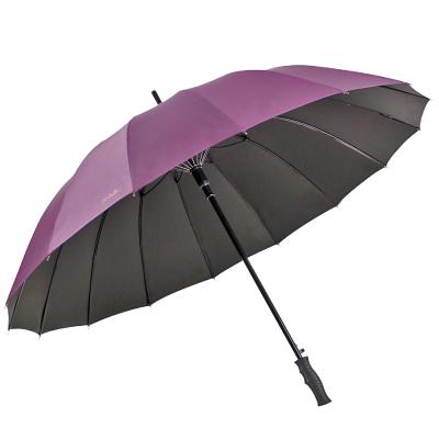天堂 10009ELCJ 加大加固碰擊布黑膠自開商務直桿高爾夫太陽傘晴雨傘