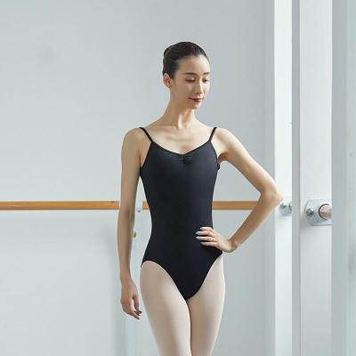 好貨藝術體服 舞蹈練功吊帶大背連體服/舞蹈練功練習服芭蕾藝考服