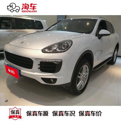 【訂金銷售】 保時捷 Cayenne 2015款 Cayenne 3.0T 淘車二手車