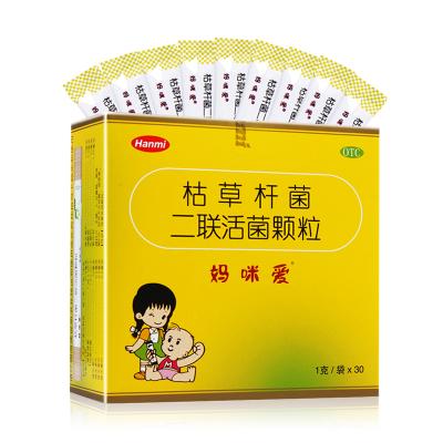 30袋】媽咪愛枯草桿菌二聯活菌顆粒1克*30袋 腹瀉 便秘 脹氣 消化不良