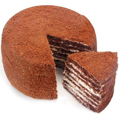 斯戈夫SAMKOND俄羅斯進口提拉米蘇蛋糕500g可可味 配一次性使用切刀