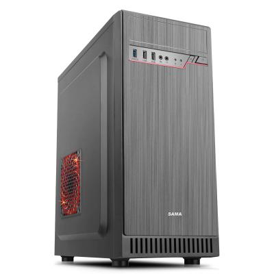 先馬(SAMA) 星脈3 商務辦公機箱 (USB3.0機箱、兼容SDD、背線21MM) 機箱 灰色