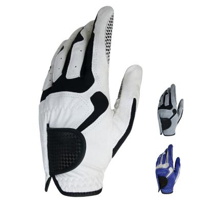 高爾夫手套 男士超纖布手套 防滑顆粒古達運動全指透氣夏季手套