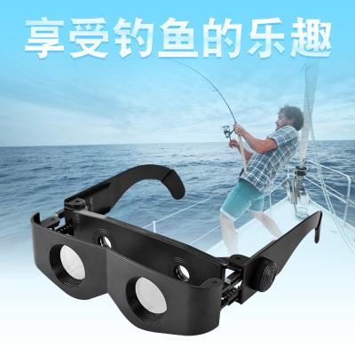 古达钓鱼望远镜高倍高清夜视看漂拉近垂钓专用近视放大眼镜头戴式
