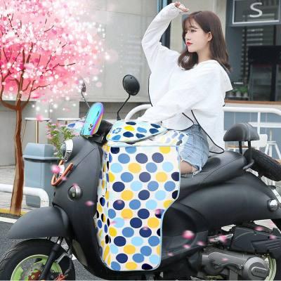 電動車擋風被夏季防曬防水電瓶摩托車自行車防風春夏天遮陽罩薄款 【三層分體款】大泡泡