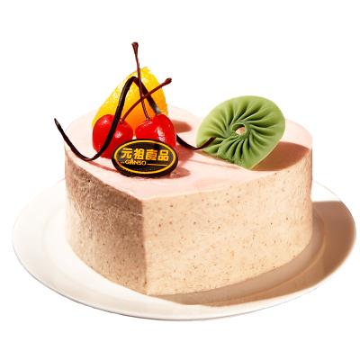 元祖 慕思蛋糕 生日蛋糕同城配送預定 蛋糕速遞 玲瓏藏心(戀愛的心) 6號