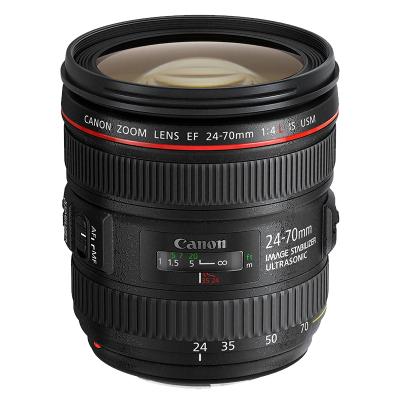 【二手95新】佳能/Canon EF 24-70mm f/4L IS USM 全時手動對焦 佳能變焦鏡頭
