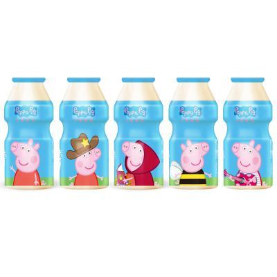 好佳一小猪佩奇乳酸菌饮品 酸奶饮料 原味100ml*30瓶