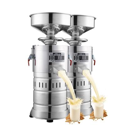 lecon/乐创洋博 不锈钢商用豆浆机 100型现磨豆浆商用磨浆机 干湿豆自动渣浆分离豆腐脑机 不带加热功能