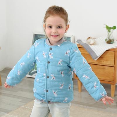 龙之涵【LONGZHIHAN】 宝宝纯棉外套童装棉衣 中大童短款棉袄 儿童通用秋冬季上衣 150cm