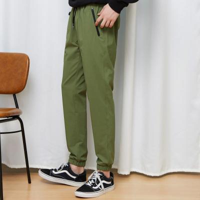 【1件3折价:39】美特斯邦威休闲裤男春季男装时尚运动束脚裤子男小脚长裤