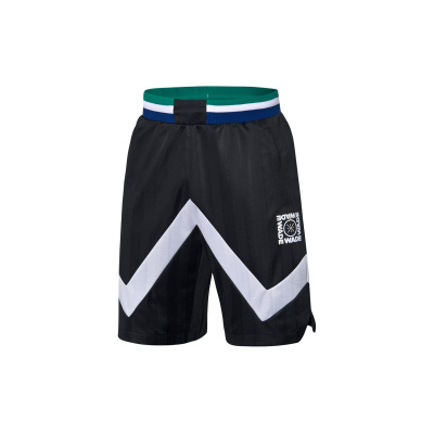 李寧籃球比賽褲男士2020新款韋德系列男裝修身梭織運動短褲