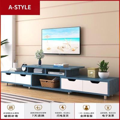 苏宁放心购电视柜茶几组合现代简约小户型实木色简易北欧电视机柜家用客厅桌A-STYLE