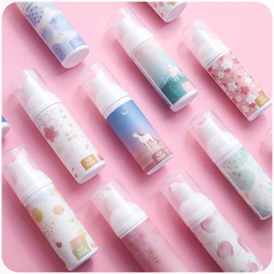 免洗洗手液泡沫型家用兒童寶寶消毒便攜式小瓶隨身按壓瓶免水