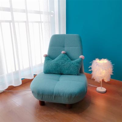 懶人沙發榻榻米單人折疊日式小座椅臥室飄窗椅椅子迷你網紅款躺椅