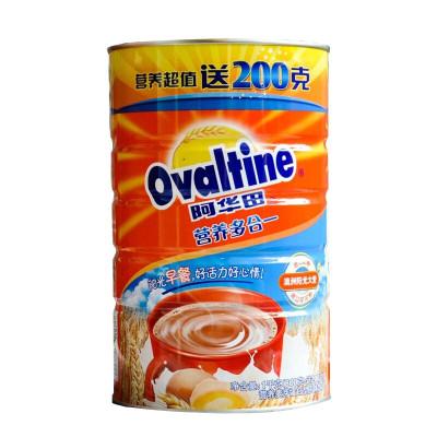 阿华田 (Ovaltine )可可粉 营养早餐代餐 奶茶冲饮 蛋白型固体饮料 罐装 (800g+200g) 1KG