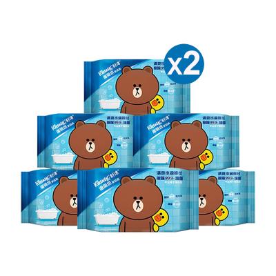 舒洁 湿厕纸家庭装【40片*12包】 私处清洁湿纸巾湿巾 可搭配卷纸卫生纸使用 湿厕纸