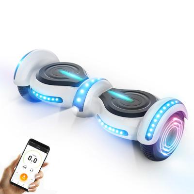 阿尔郎(AERLANG)智能平衡车儿童双轮电动体感思维扭扭车 N5-B 奢华白