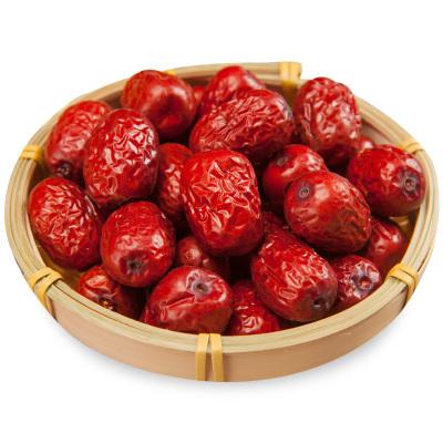 加园(Jiayuan)新疆特产红枣若羌灰枣特级红枣干果500g