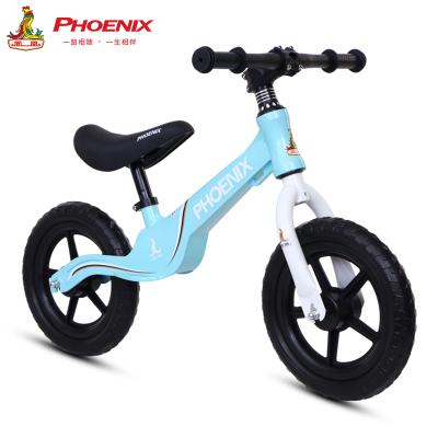 鳳凰兒童平衡車滑步車2-3-6歲寶寶童車滑行車男女小孩單車兒童自行車