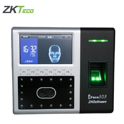 中控智慧iFace303 人臉面部識別 考勤機 打卡機 超大容量指紋機
