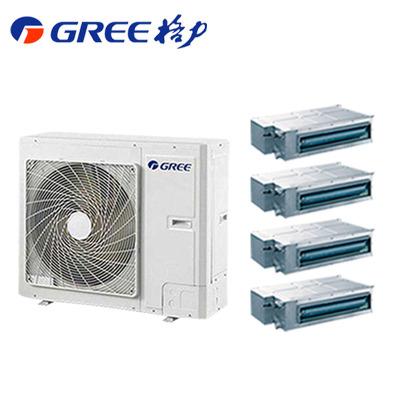 (GREE)格力 家用中央空調 6匹 雅居系列 一拖四 GMV-H140WL/F 變頻家用嵌入式中央空調 售價為設備費