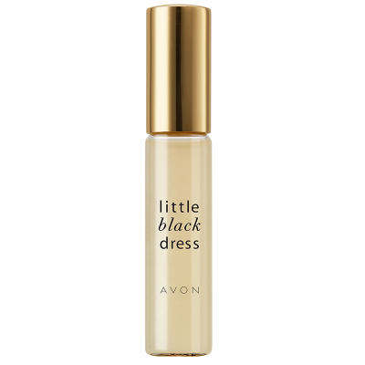 雅芳(AVON)小黑裙-走珠香水9ml滚珠持久淡香氛清新自然学生少女身体走珠香水