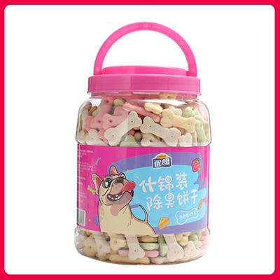 优朗(U-BRIGHT)犬用什锦装除臭饼干1kg