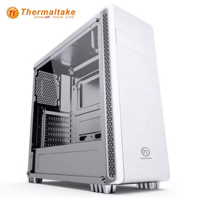 Tt機箱 途騰T5 白色 ATX中塔機箱 背線側透水冷電腦機箱
