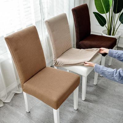 權夫人家用簡約椅墊套裝彈力連體通用餐椅套坐墊酒店餐桌椅子套罩凳子套