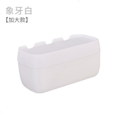 卫生间纸巾盒免打孔厕所抽纸厕纸盒创意卷纸盒手纸盒卫生纸置物架 象牙白【加大款带储物盒】