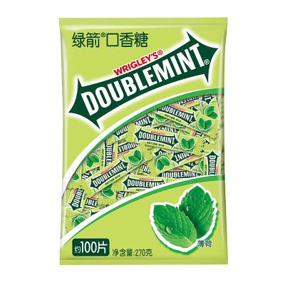 綠箭 糖果 口香糖 薄荷味100片(休閑食品)