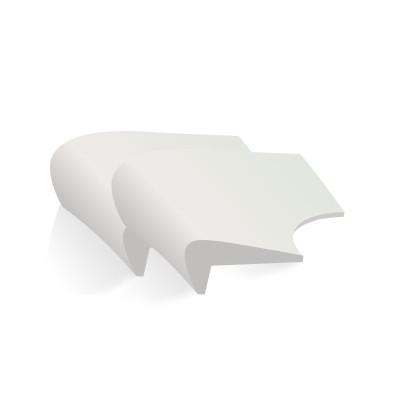 【棒棒豬】時尚硅膠防撞角(BBZ-29S)天空灰 8個裝