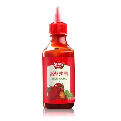 極美滋番茄沙司醬280g家用瓶裝蘸醬擠擠裝手抓餅醬意面醬