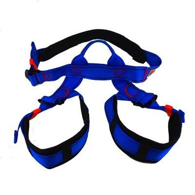 儿童游乐场室内攀岩拓展安全带半身安全带带护腰护腿AQD